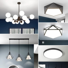 Nordic Modern Simple Style Living Room Lighting, Three Rooms, Two Rooms, Full Rooms Lighting Set, Restaurant Bedroom Chandelier