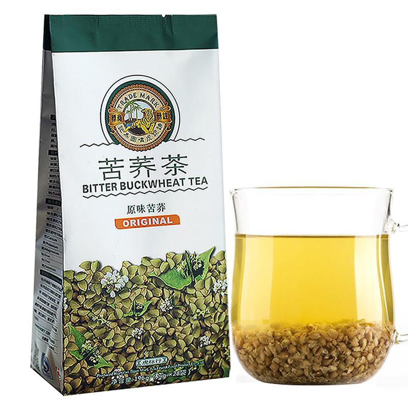 香港虎标苦荞茶正品袋装麦香清香型大麦茶叶浓香型特级28包/袋