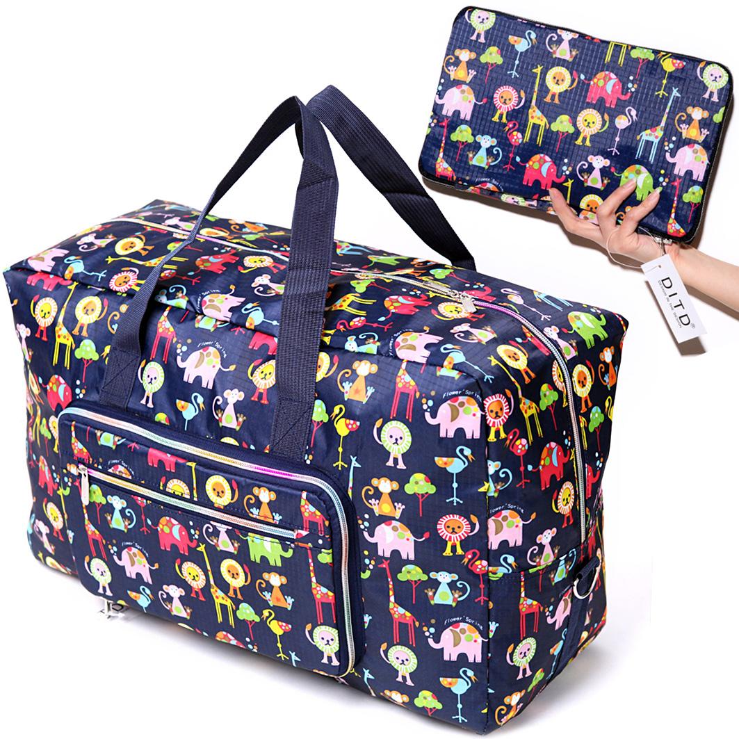 可折叠旅行包手提旅行袋女大容量出差短途男登机防水行李袋旅游包