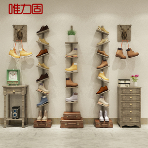 Personalized boutique shoe store shoe rack shoe store shelf display rack mall shoe shelf multilayer assembly shoe rack display display rack