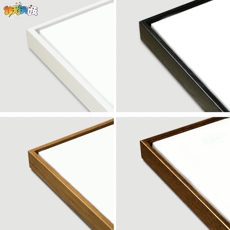 佳彩天颜 diy数字油画油彩装饰中式外框木框相框画框中式现代简约