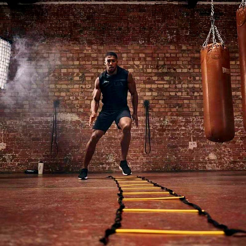 包邮正品拳击步伐训练梯绳梯跳梯步伐训练跳栏跳格梯足球训练跳梯