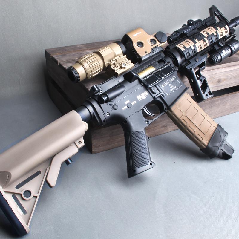 锦明8代水弹枪M416尼龙改装J8电动连发9代真人cs装备儿童玩具枪