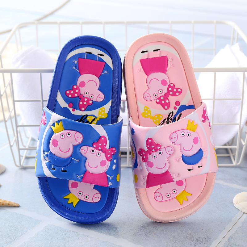 儿童拖鞋夏天女童卡通可爱室内防滑家居中大童小孩男宝宝凉拖鞋