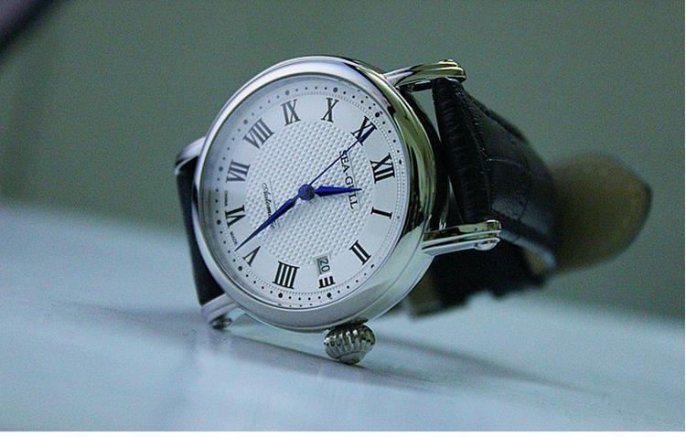 海鸥手表M186S绝版之作全自动机械表男表皮带表商务休闲学生表