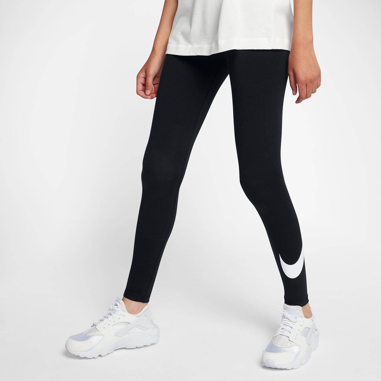 NIKE耐克女裤2019夏季运动裤透气跑步训练弹力紧身裤长裤815998-