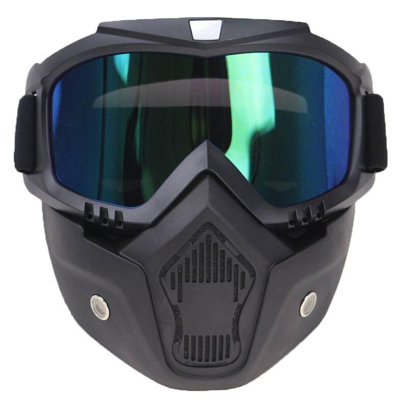 包邮户外军迷战术CS面具哈雷机车骑行眼镜摩托车防风沙护目镜面罩