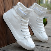 英伦白色中帮休闲hn5鞋情侣鞋rt高帮帆布鞋潮单鞋男学生布鞋