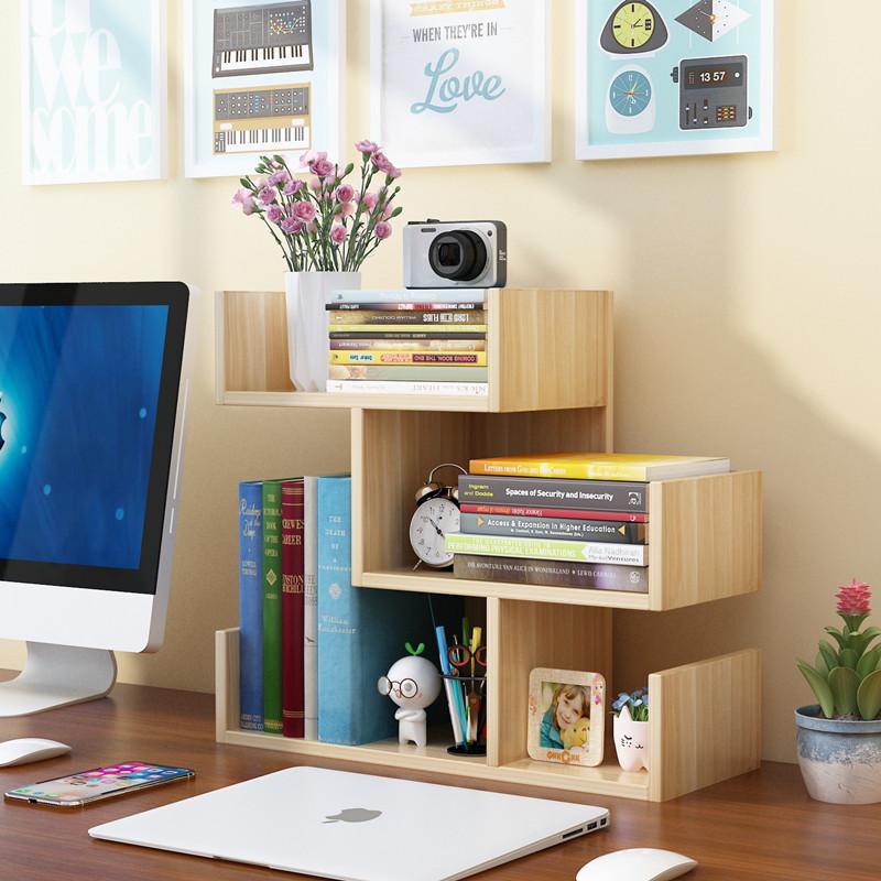 点击查看商品:简易桌上小书架儿童桌面置物架学生用书柜简约现代办公收纳储物柜