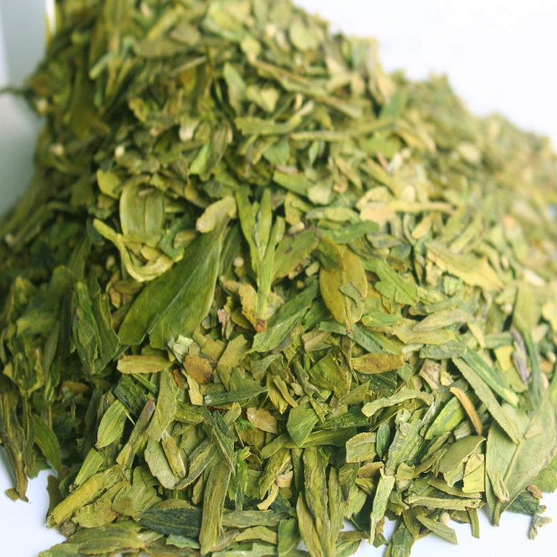 2017新茶叶龙井茶片明前特级梅坞西湖龙井茶片碎茶心茶农直销500g