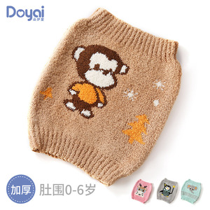 Autumn and winter baby belly protection baby umbilical cord newborn child protection belly button umbilical protection against cold wrapped abdomen