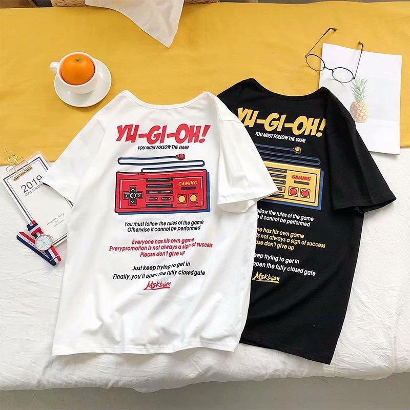 东区夏季男士短袖T恤韩版宽松男生嘻哈潮牌半袖港风chic夏装潮流