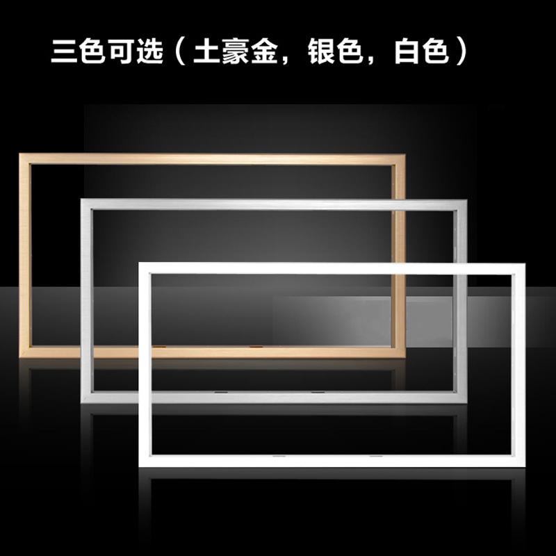 加厚鋁合金轉接框架明暗裝平板燈安裝轉換框led集成吊頂配件浴霸