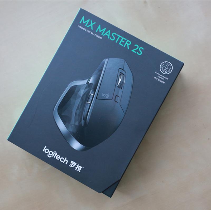 包装破损罗技MX MASTER 2S 大师无线鼠标 蓝牙优联双模式无线充电