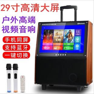 广场舞29寸便携式视频大功率话筒
