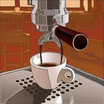 Yvoire意式香浓咖啡豆新鲜中度烘焙现磨云南纯黑咖啡粉454克无糖