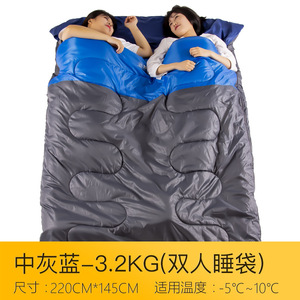 Outdoor professional climbing sleeping bag outdoor tent thick inflatable explorer double camping supplies outdoor supplies