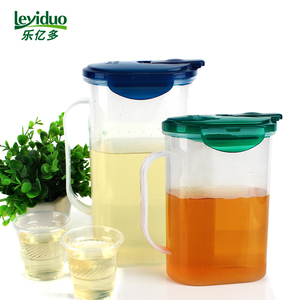 Le Yiduo Kettle Cold Kettle Set Storage Kettle Plastic Outdoor Travel Portable Kettle Juice Jug Two Piece Set