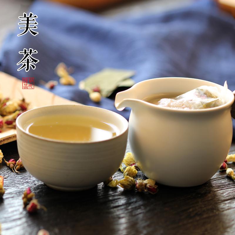 许氏醇品美茶 花草茶组合养生茶 荷叶茶菊花玫瑰柠檬玫瑰茉莉花茶