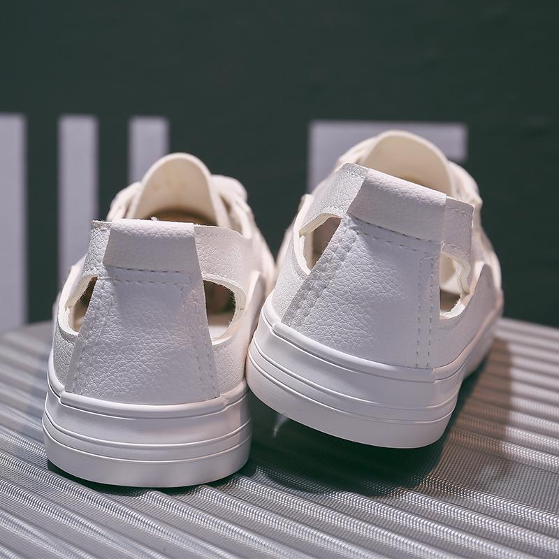 断码清仓夏季小白鞋女帆布鞋凉鞋板鞋单鞋内增高女鞋懒人鞋运动鞋