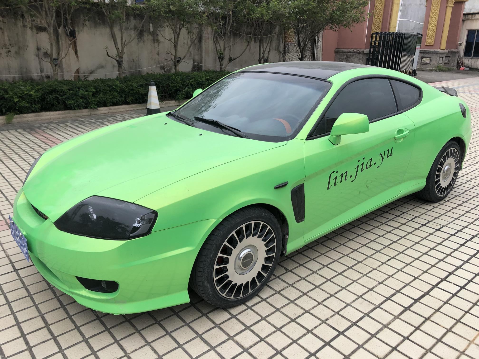 现代酷派V6  改装轮毂,大灯,排气,音箱,全部带给你们,送
