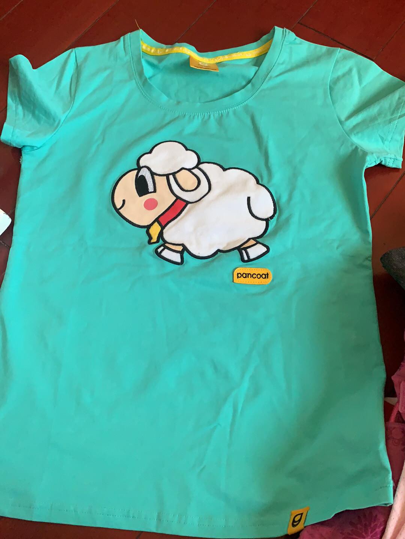 全新  夏季新款奔跑吧兄弟小羊男女纯棉t恤 材质:棉  尺码