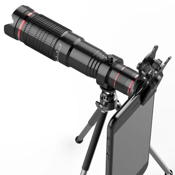 手机长焦镜头拍照望远镜高倍演唱会神器双摄像头外置通用单反高清