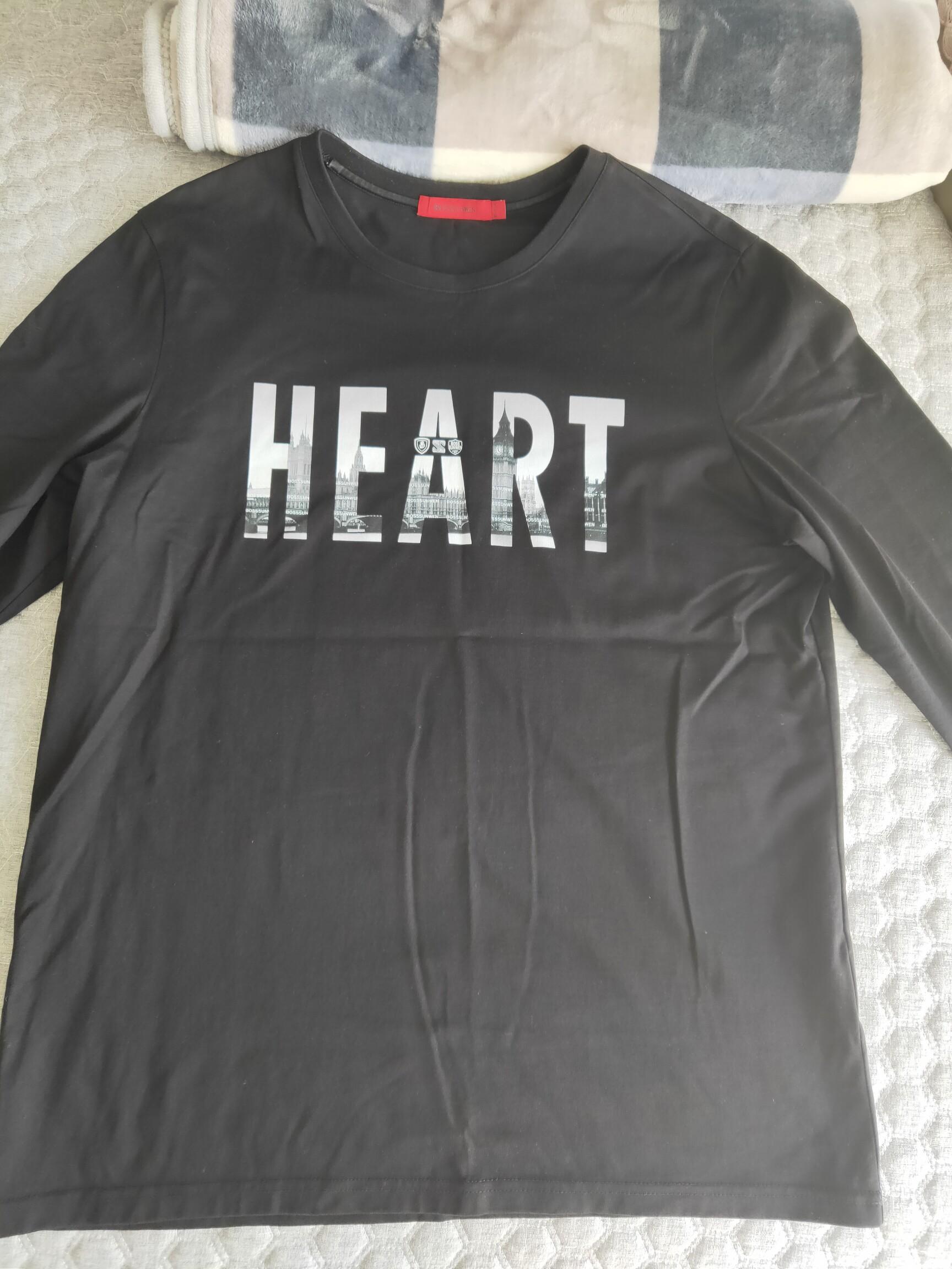 出售bosssunwen长袖体恤,175-180可穿
