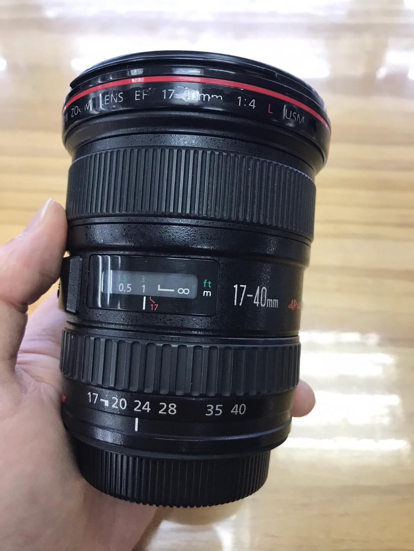佳能17-40mm f/4L单反镜头。成色一般 功能正常 镜