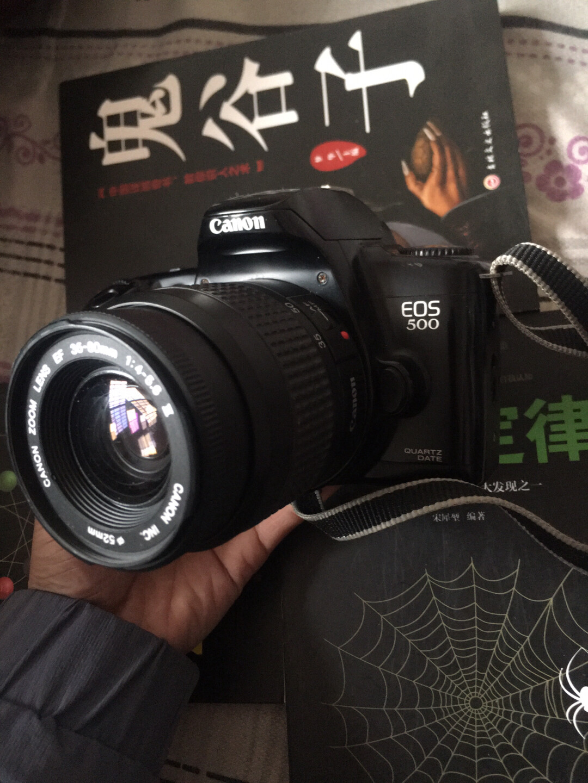 佳能eos500   带ef35-80镜头   功能正常