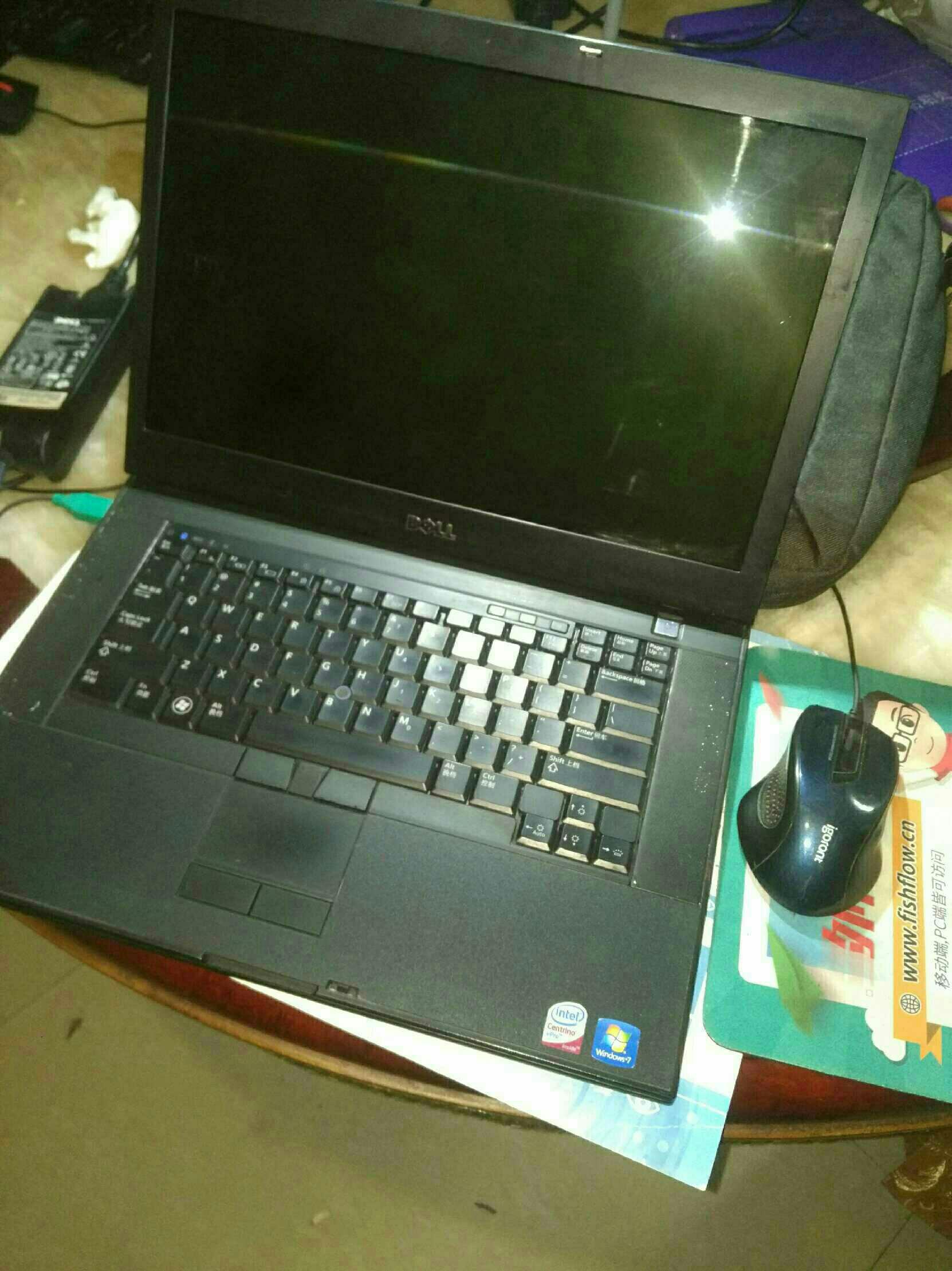 戴尔笔记本电脑E6500全套转让送电脑包鼠标  戴尔笔记本电