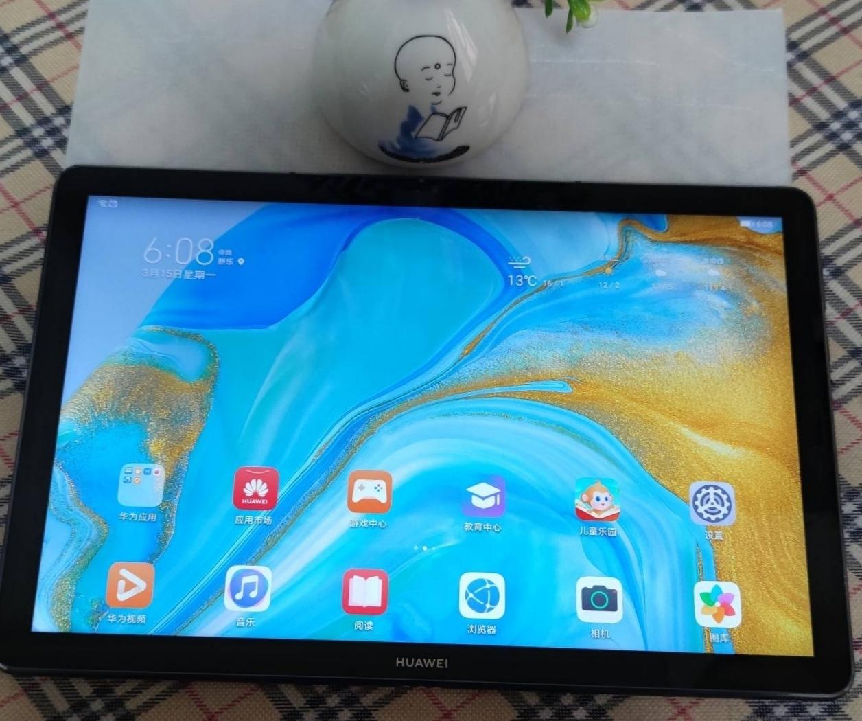 99新华为平板M6  10.8寸WIFI版128G