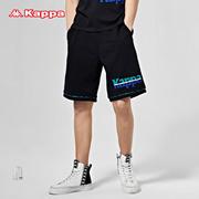 Kappa卡帕男款运动短裤夏季休闲五分裤宽松印花篮球短裤2020