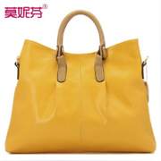 Fall/winter leather women bag 2015 new trends handbags leather ladies bags of tide fashion shoulder bag handbag women