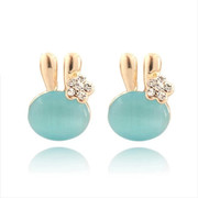 9.9 email Bunny cute Korean earrings earring women Korea fashion jewelry