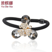 Ya-na Korean fashion hair jewelry hair accessory rhinestones tiara hair accessories hair bands rope Y307