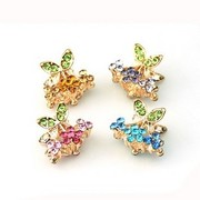E039 good jewelry rhinestones hair claw clips hair accessories hair accessories hair bangs clip hair caught between Korea accessories