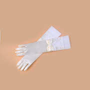 Honey made star gloves gloves, wedding gloves Bridal Gloves white gloves ST-13-