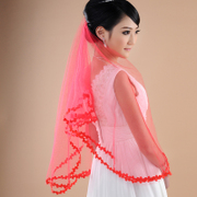 Honey because the Red Veil veil Bridal Veil Bridal Veil TSH-1-