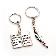 Smiling couple Keychain key ring pendant accessories jewelry – 353771 per the
