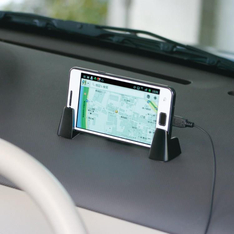 日本NAPOLEX汽车载手机座仪表台导航架通用手机支架iphone8 Plus
