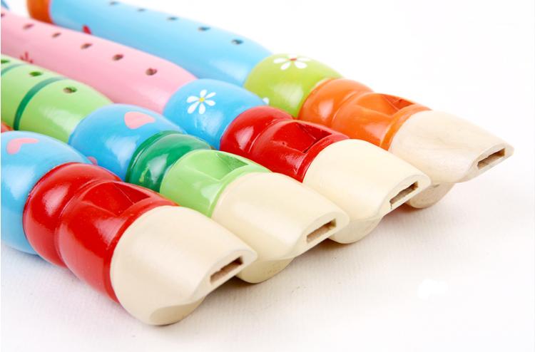 奥尔夫儿童玩具笛子早教木质益智婴幼儿安全笛子乐器