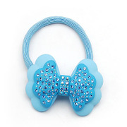 Smiling bow-tie heads to withhold rope band Korea hair hair hair hair accessories jewelry tiara 339701