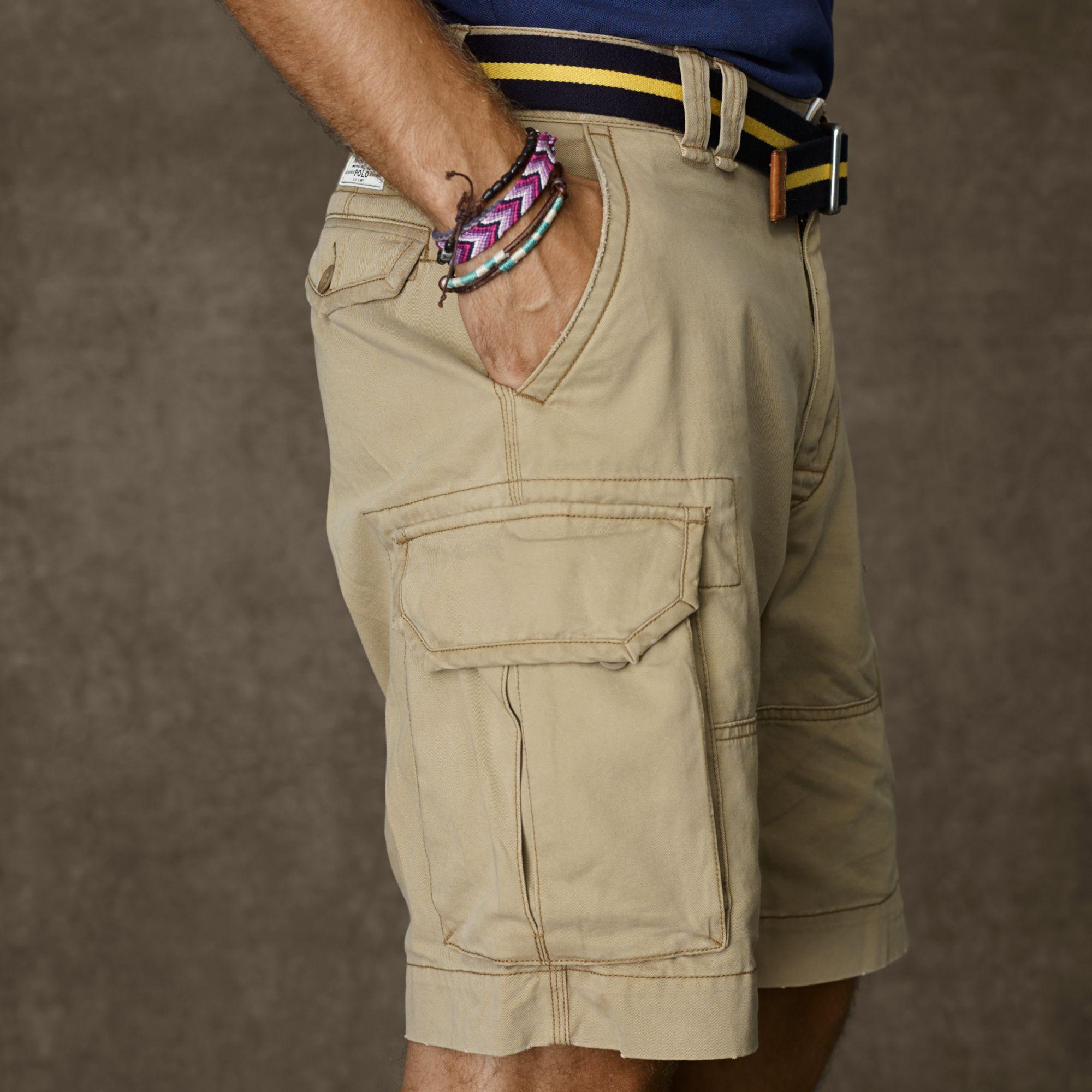 RL POLO官网在售 经典之作 军款M65系列 多色厚实工装短裤