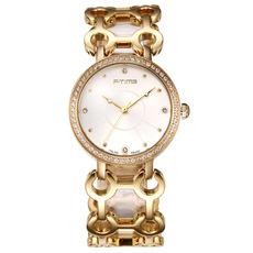 F-time正品时尚手链表镶钻钢带装饰手表女学生尊贵气质女士石英表