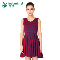 Hot vintage small fields breathe sweet and put on a slim sundresses for spring and autumn Plaid dresses to make early 19H5702