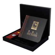 宝泉钱币 外国黑便士邮票+金银币典藏卡册  金币.银币999纪念卡币