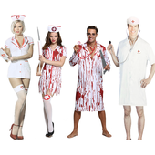 Bloody Doctor & Nurse Costumes