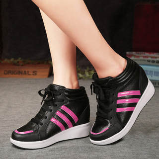 MI Ka autumn 2015 within the Korean wave stealth increases 8CM women's shoes platform high casual shoes women sneakers