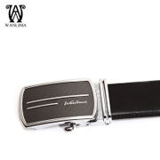 Wan Lima 2015 fall/winter new men's belts business casual young Korean men belt automatic belt buckle